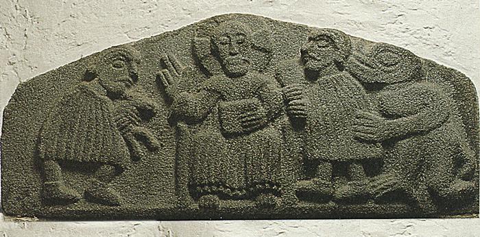 Tympanon Kirche Ulsnis