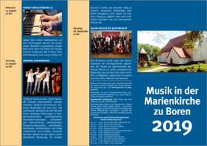 Musik in der Marienkirchen zu Boren 2019