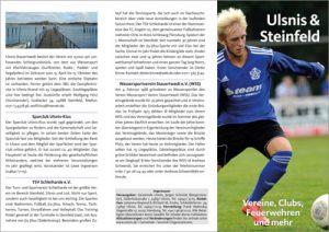 Vereinsfaltblatt der Gemeinden Ulsnis und Steinfeld