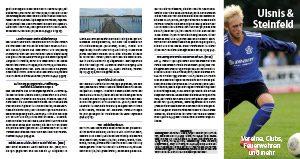 Das Vereinsfaltblatt aus dem Jahre 2019