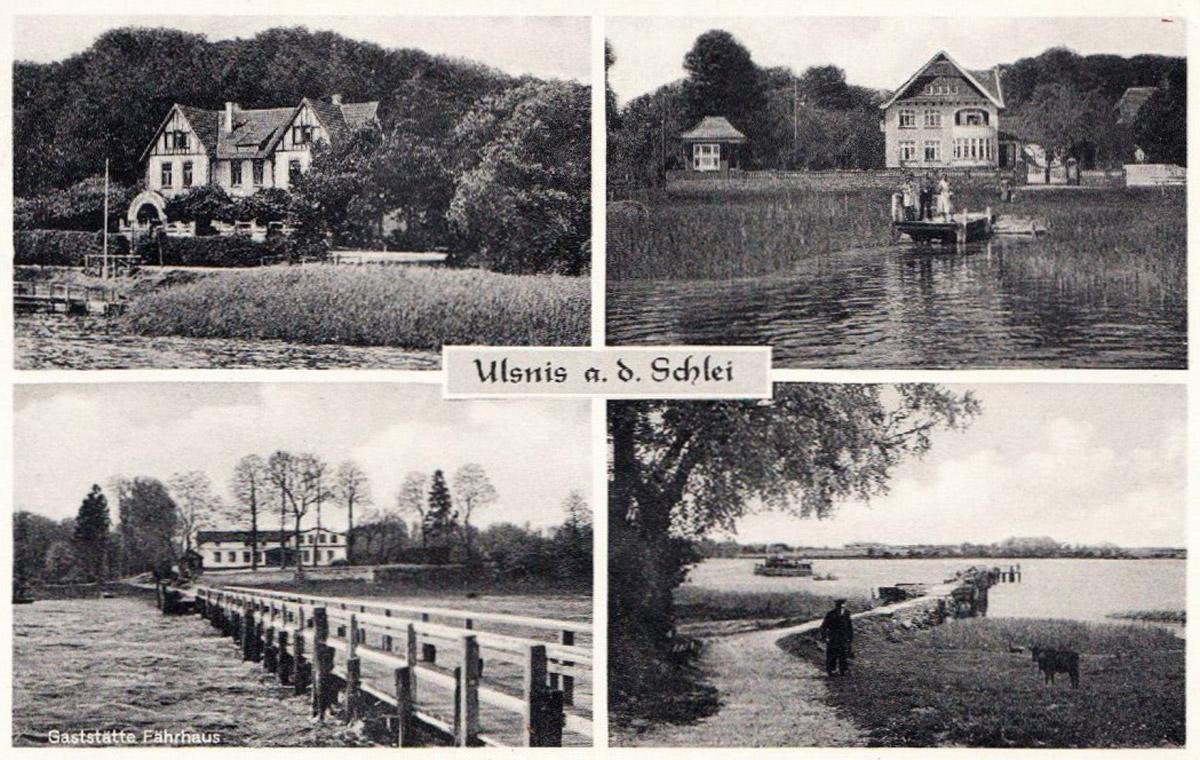 Postkarte Ulsnis an der Schlei
