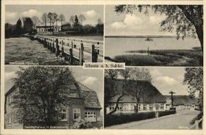 Postkarte von Ulsnis an der Schlei