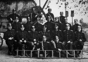 Freiwillige Feuerwehr Gunneby im Jahr 1936