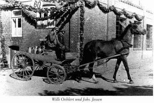 Pferdewagen der alten Meierei Ulsnis