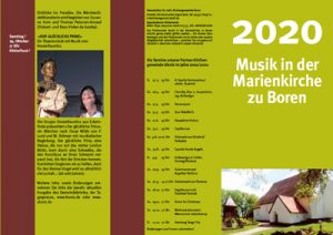 Musik in der Marienkirche zu Boren im Jahr 2020