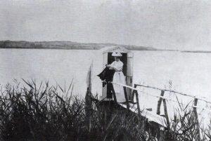 Bademode an der Schlei um 1900