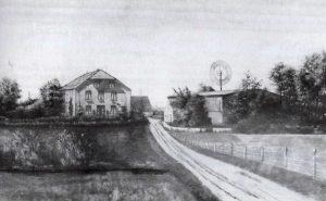 Das Foto zeigt eine alte Ansicht von Bremsdieck 1.