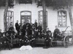Feuerwehr Ulsnis-Hestoft 1911