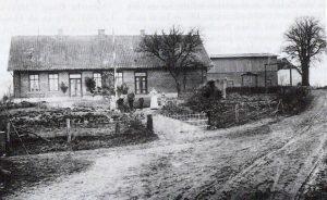 Das Foto zeigt eine alte Ansicht von Gunneby 17.