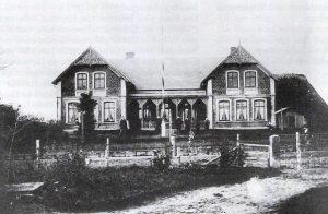 Das Foto zeigt eine alte Ansicht von Gunneby 19.