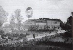 Die alte Grützmühle in Gunneby.