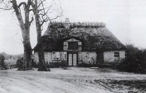 Das Foto zeigt die alte Ansicht des Hauses Hestoft Nr. 18.