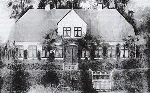 Hestoft Nr. 20 auf einer Postkarte des Jahres 1900 (circa).