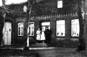 Christine Evers, Elke und Heinrich Petersen im Haus Knappersfeld 2