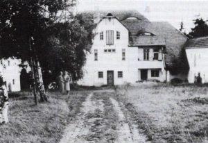 Alte Ansicht der Villa Dallacker