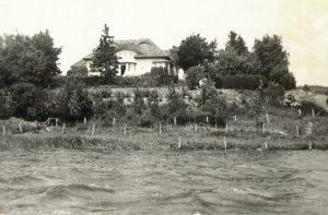 Villa Dallacker, Ansicht von der Schlei