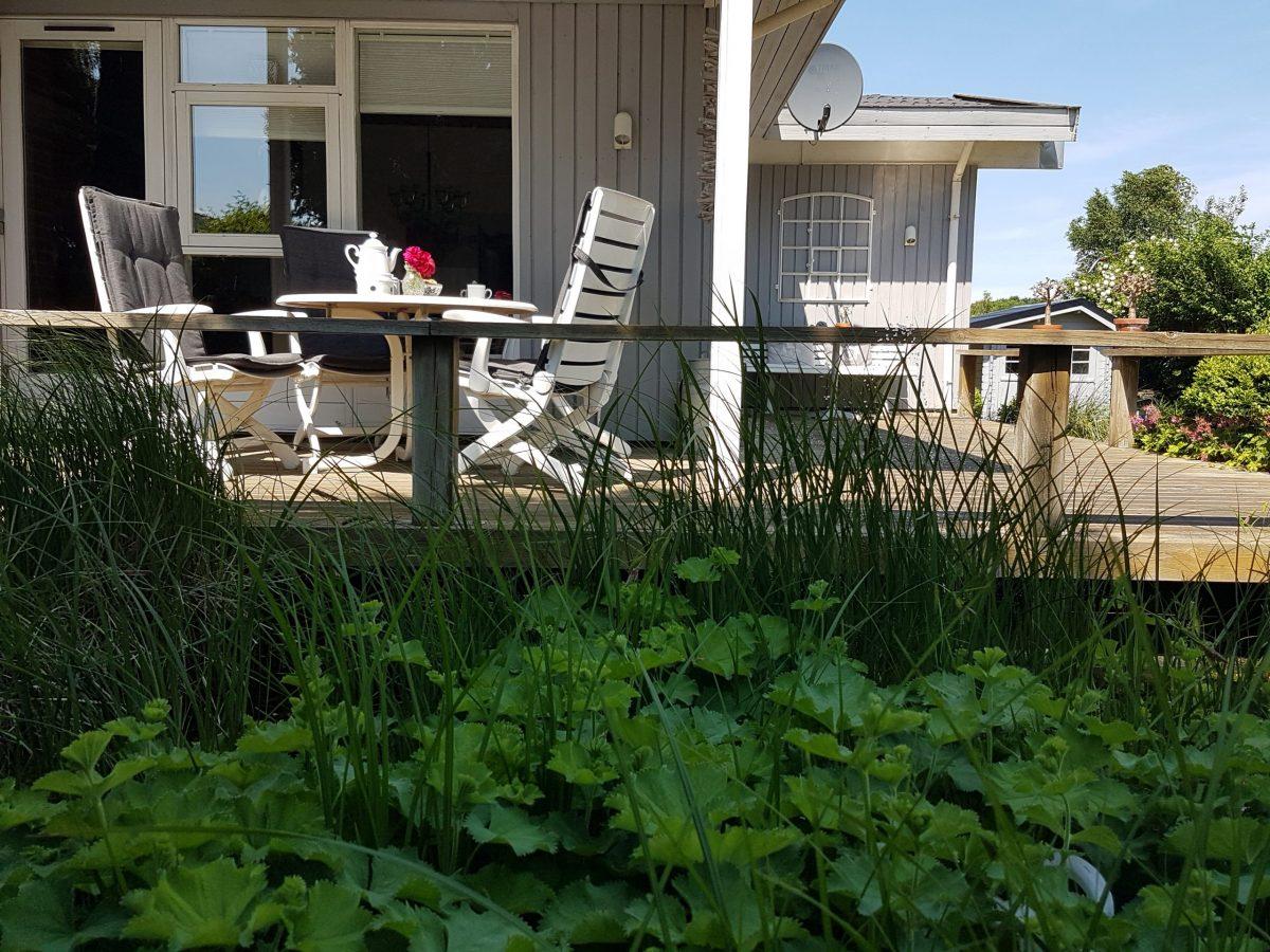 Terrasse Ferienhaus Schleiliebe